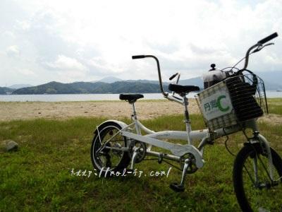 天橋立二人乗り自転車レンタサイクル